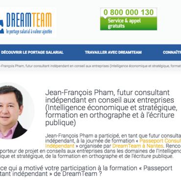 Formation Passeport Consultant Indépendant