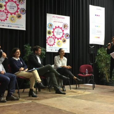 Salon Ouest-Formation : table ronde